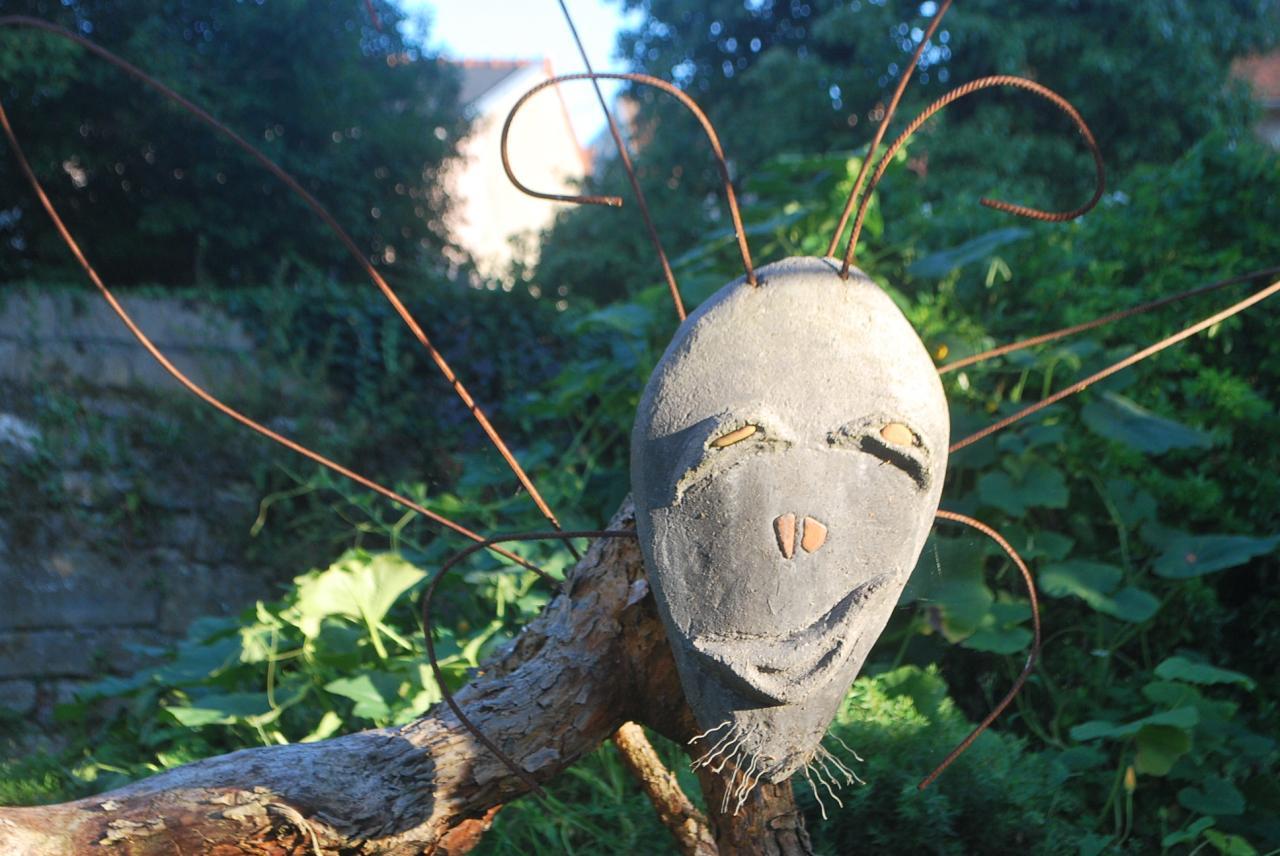 Réalisation de sculpture pour jardin