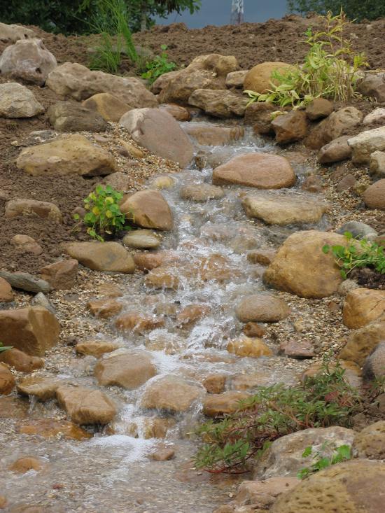 Cascades et ruisseaux