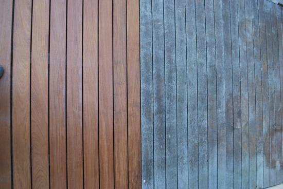 Rénovation bois de terrasse