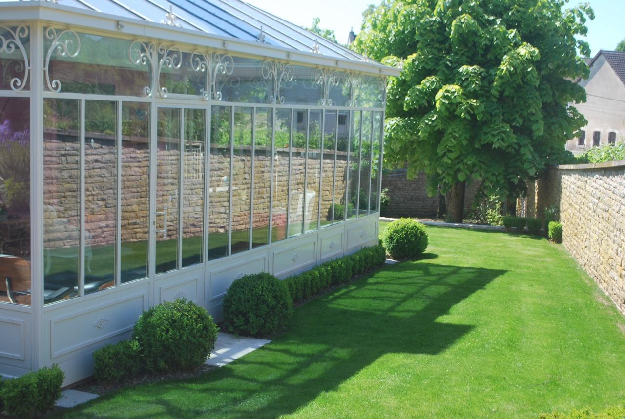 Création d'un jardin à la française