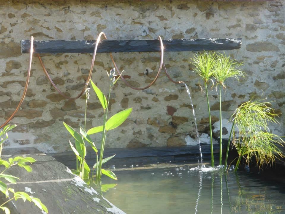 Fontaine en ardoise à Auxerre