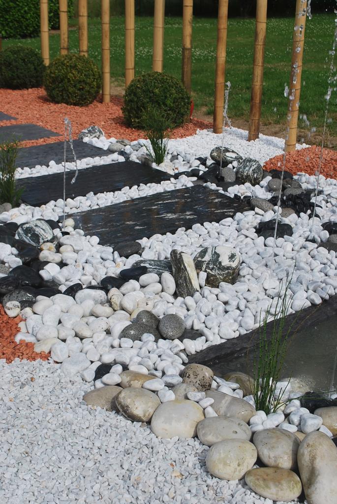 Décor minéral, création de jardion minéraux et aquatiques