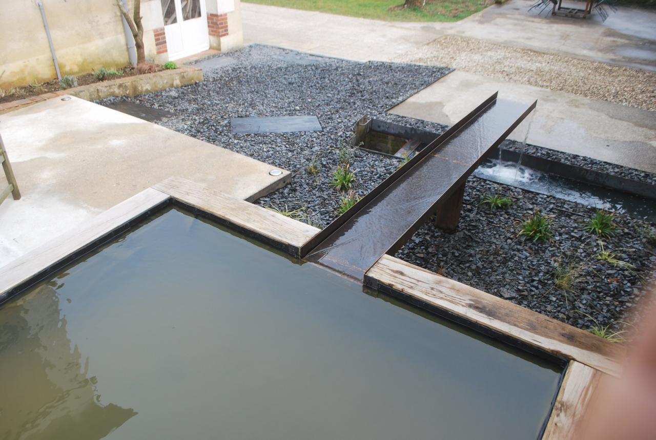 Vue sur bassin