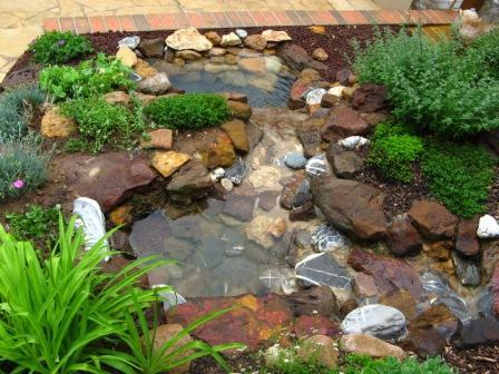 Création d'un ruisseau