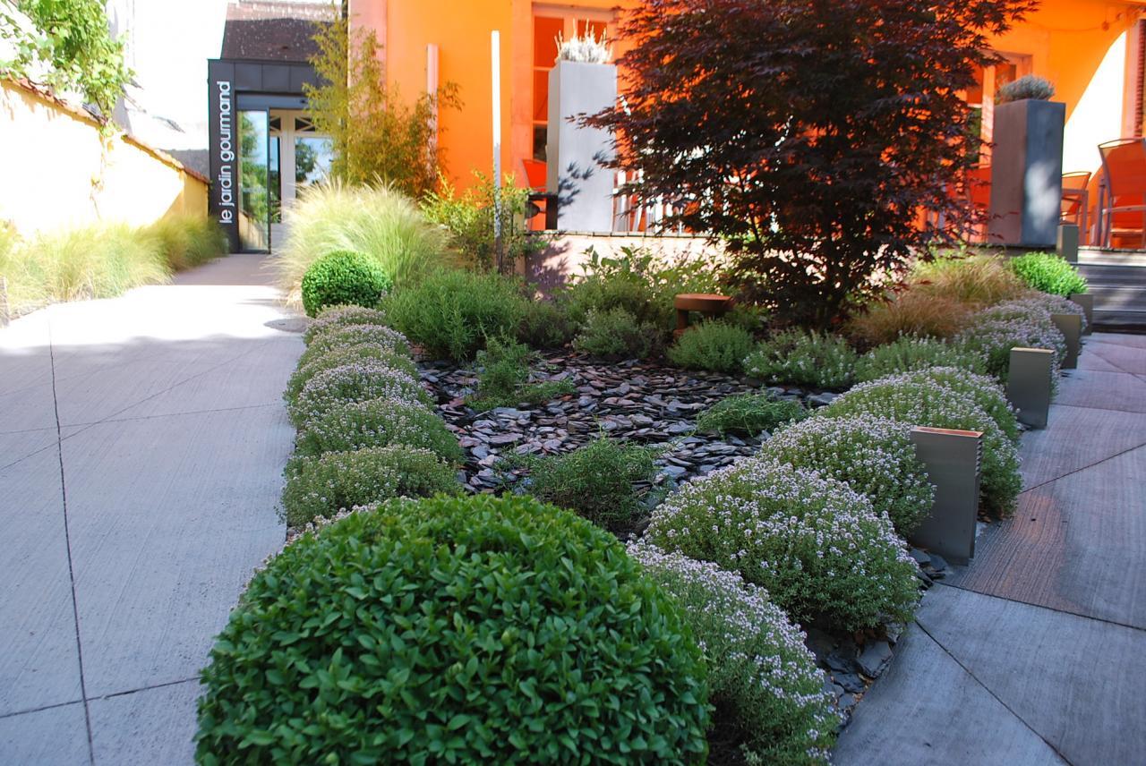 Jardin d'accueil, Le jardin gourmand à Auxerre