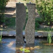 Colonnes en granit