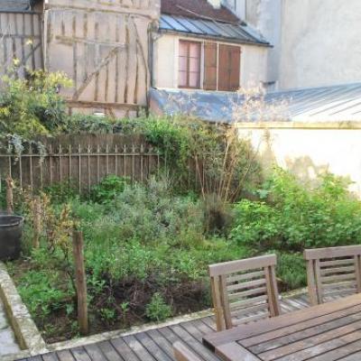Création d'un jardin contemporain à Auxerre