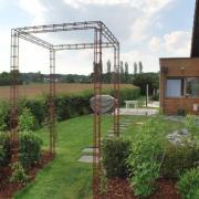 structure pour plantes grimpantes