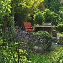 Jardin paysagé, tout en rondeur