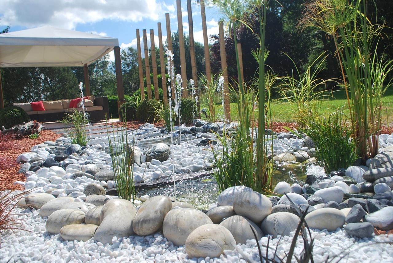 Bassin Fontaine De Jardin eau jardin, paysagiste à pourrain et auxerre, création de