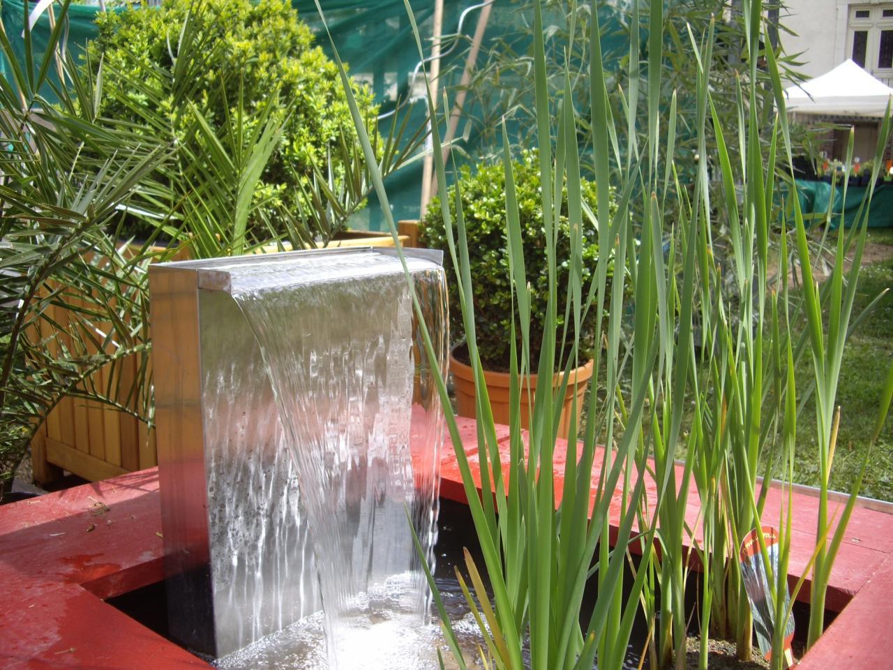Fontaine pour exposition à Auxerre